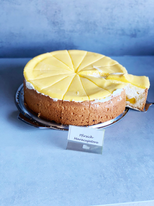 Pfirsisch Maracuja Torte